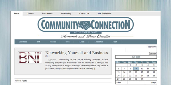 web site design CommunityConnectOnline.com