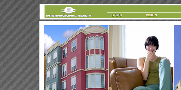 web site design InternacionalRealty.com