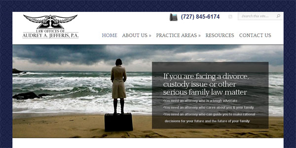 web site design PascoFamilyDivorce.com