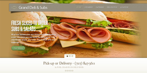 web site design WayBetterSubs.com