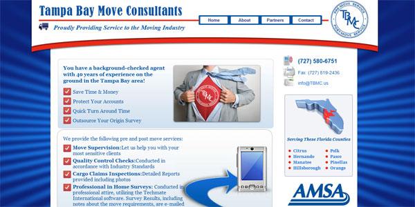 web site design TampaBayMoveConsultants.com